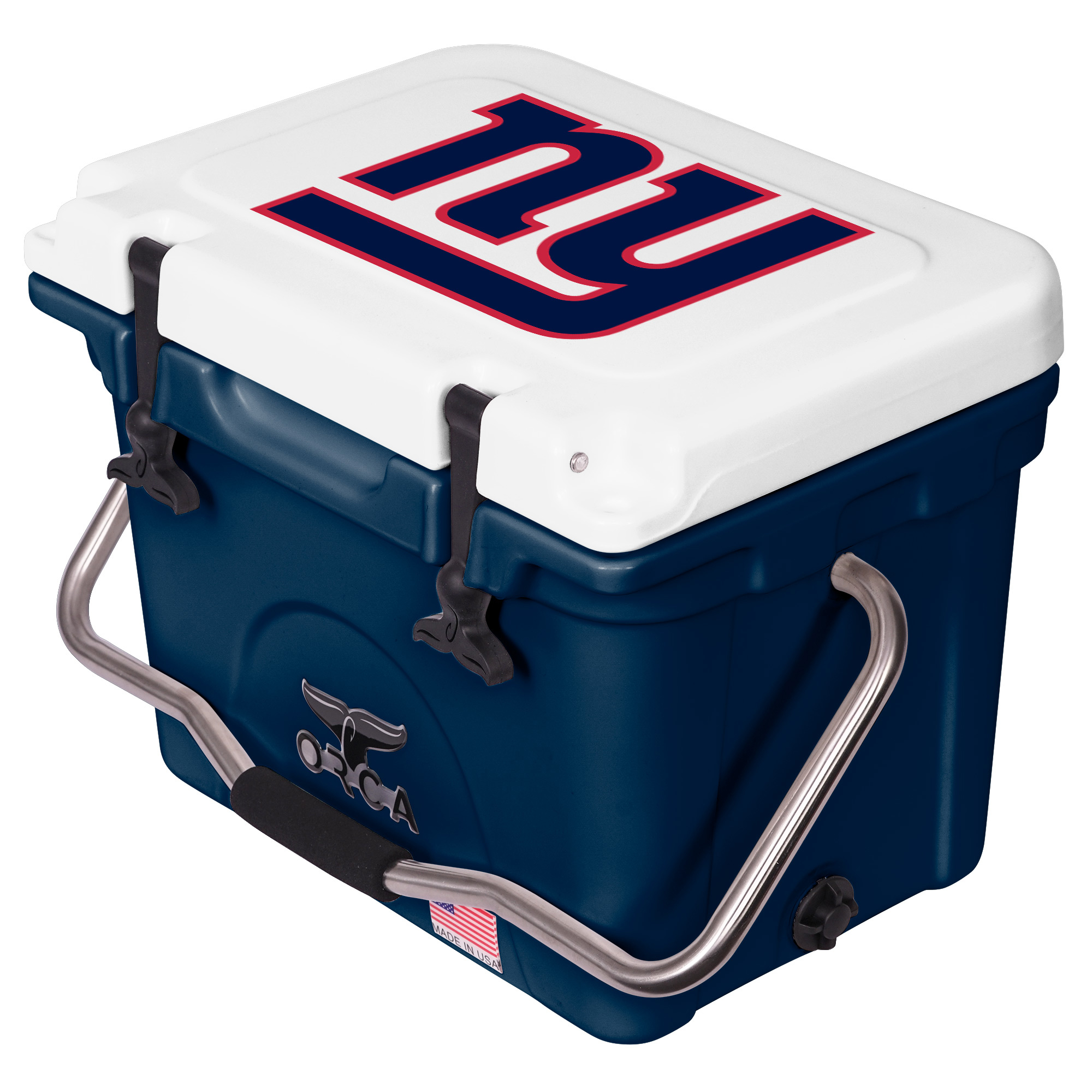 New York Giants ORCA 20-Quart Hard-Sided Cooler - Blue/White - No Size