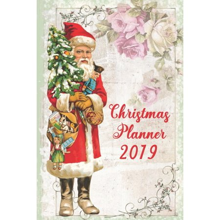 Ultimate Christmas Planner - Santa Organiser Christmas Shopping Tracker & Countdown Journal: Organiser Budgets Shopping Lists, Christmas Wish List Gift Card Address Book And Tracker, Flower Theme (Pap ()