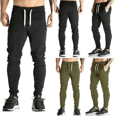 MEN Men Casual Jogger Dance Harem Sport Pants Baggy Slacks Trousers Sweatpants