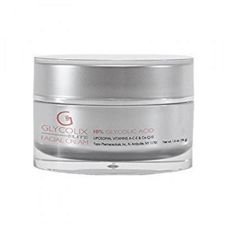 Topix Glycolix Elite Facial Cream 10    1 6 Oz