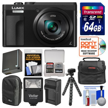 Panasonic Lumix Dc Zs70 4k Wi Fi Digital Camera Black