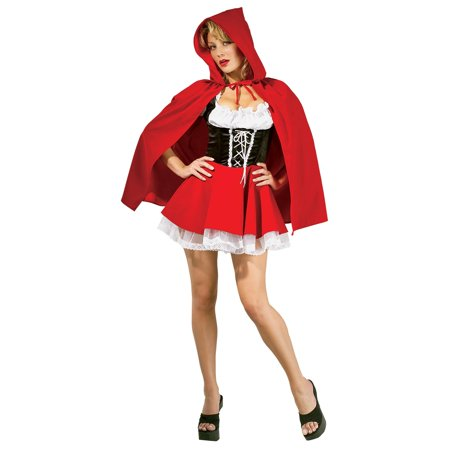 Womens Red Riding Hood Halloween Costume - Halloween Costumes Womans