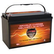 VMAX XTR31-135 Golf Cart Battery AGM Group 31 Deep Cycle Battery 12V 135Ah