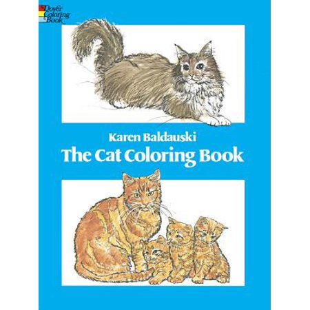 Cat Coloring Book - Printable Halloween Cat Coloring Pages