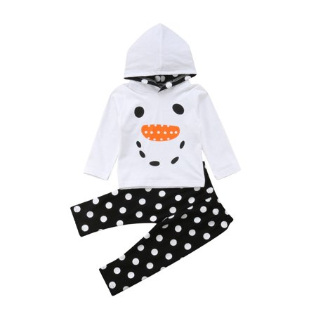 132443eaa Newborn Infant Toddler Baby Boy Girl Clothes T-shirt Tops+Pants ...
