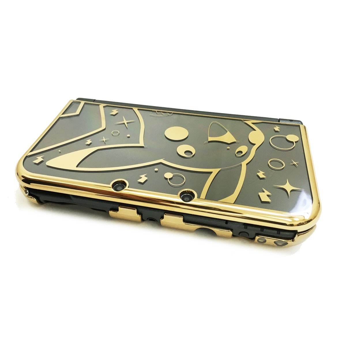 HORI Official Pikachu Premium Gold Protector for New Nintendo 3DS XL Licensed by Nintendo & Pokemon