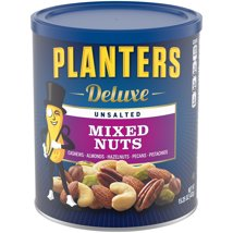 Nuts & Seeds: Planters Deluxe Mixed Nuts Unsalted