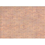 Dollhouse 6 Pack Wallpaper, Old Red Bricks