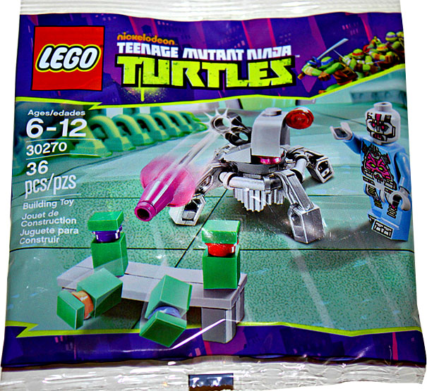 Teenage Mutant Ninja Turtles Kraang's Laser Turret Mini Set LEGO 30270 [Bagged]