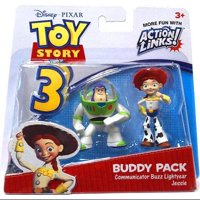 Disney Pixar Toy Story Buddy Pack Communicator Buzz Lightyear & Jessie Action Figures