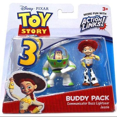 Communicator Buzz Lightyear & Jessie Mini Figure 2-Pack Toy Story - Jessie From Toy Story Makeup
