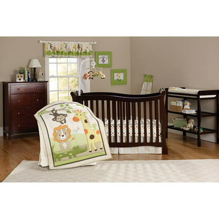 Child Of Mine Safari Party Crib Bedding 3 Piece Set