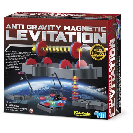 Image of 4M Anti Gravity Magnetic Levitation Science Kit Stem