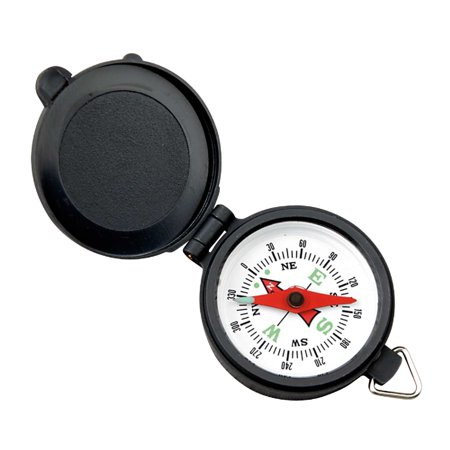 Coleman Pocket Compass With Plastic Case