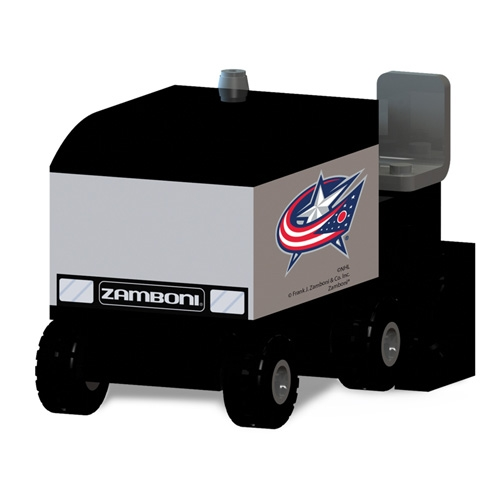OYO Sports Columbus Blue Jackets Zamboni Machine Building Blocks Set - No Size