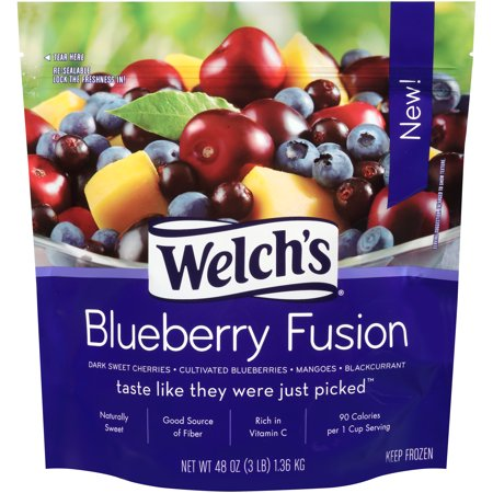 Welch S Blueberry Fusion  3Lbs   6 Pack