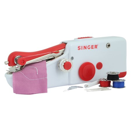 singer 01663 stitch sew quick portable hand held sewing machine quick easy new open box. Black Bedroom Furniture Sets. Home Design Ideas