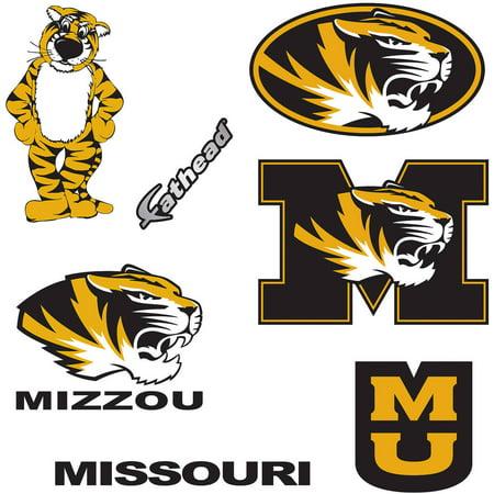 Logo Fathead Basketball - Fathead Missouri Teammate Logo Assortment