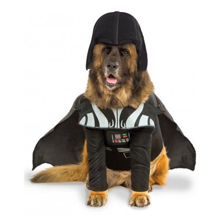 Pet Star Wars Costume Big Dog Darth Vader