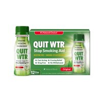 Quit WTR,Original,Nicotine-Free Smoking Cessation Detox Drink,12pk