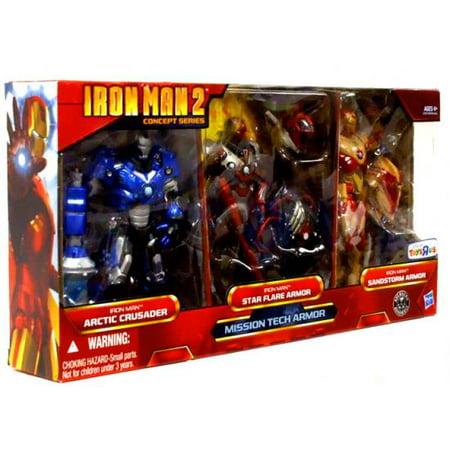 Iron Man Concept Series Mission Tech Armor Action Figure 3-Pack -  Walmart.com 143cfac9a2265