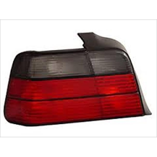 ANZO 221200 BMW 3 Series E36 92-98 4 Dr Tail Lights Red & Smoke