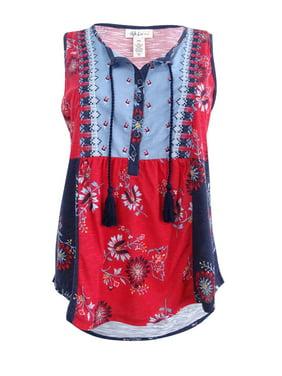 Women/'s Plus Size T-Shirt 1X Industrial Blue Style /& Co