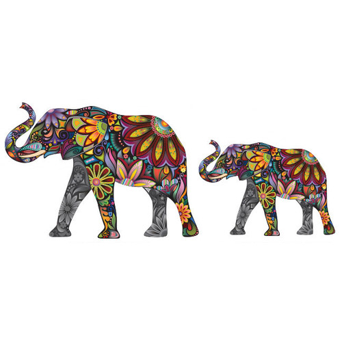 My Wonderful Walls Elegant Elephant Wall Sticker by My Wonderful Walls