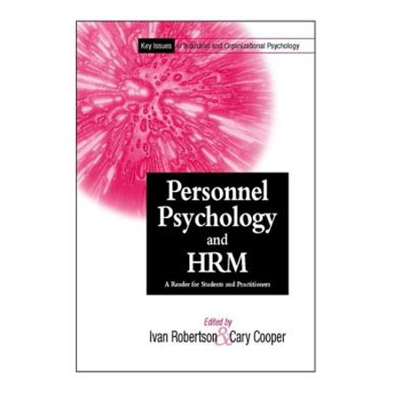 Personnel Psychology and Human Resources Management -