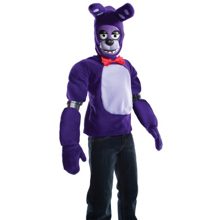 Five Nights At Freddys Kids Bonnie Costume - Costumes At Walmart