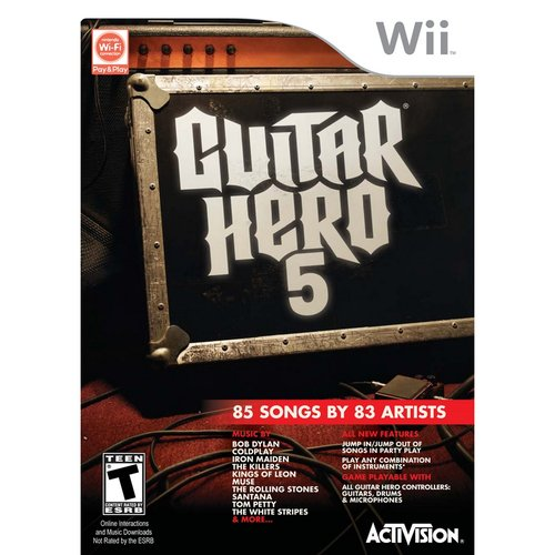 Guitar Hero 5 - Software Only (Wii) - Pre-Owned