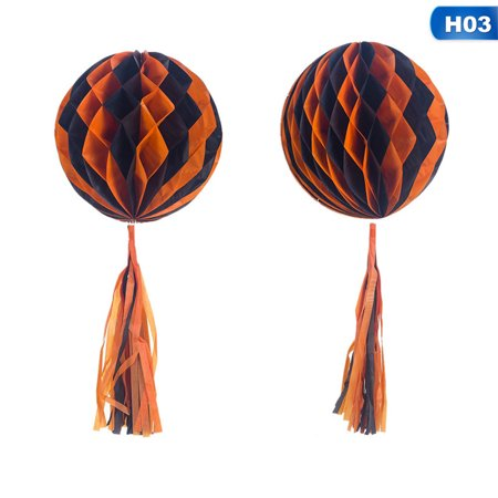 KABOER 2019 New Fashion Halloween Decoration Creative Funny Halloween Party Flower Pendant (Bb's Halloween Party 2019)