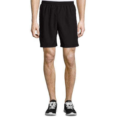 Hanes Sport Men's and Big Men's Performance Running Shorts, Up to Size 2XL ()