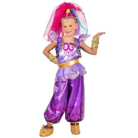 Shane Halloween Costume (Halloween Shimmer & Shine: Girl's Shimmer Child)