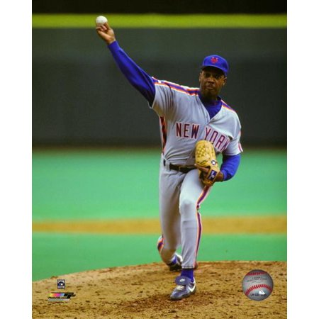 Dwight Gooden 1992 Action Photo Print