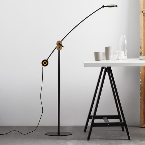 Seed Design Planet 64.1'' LED Task Floor Lamp
