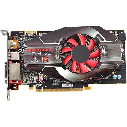 XFX AMD Radeon HD 6770 1GB DDR5 Video Card