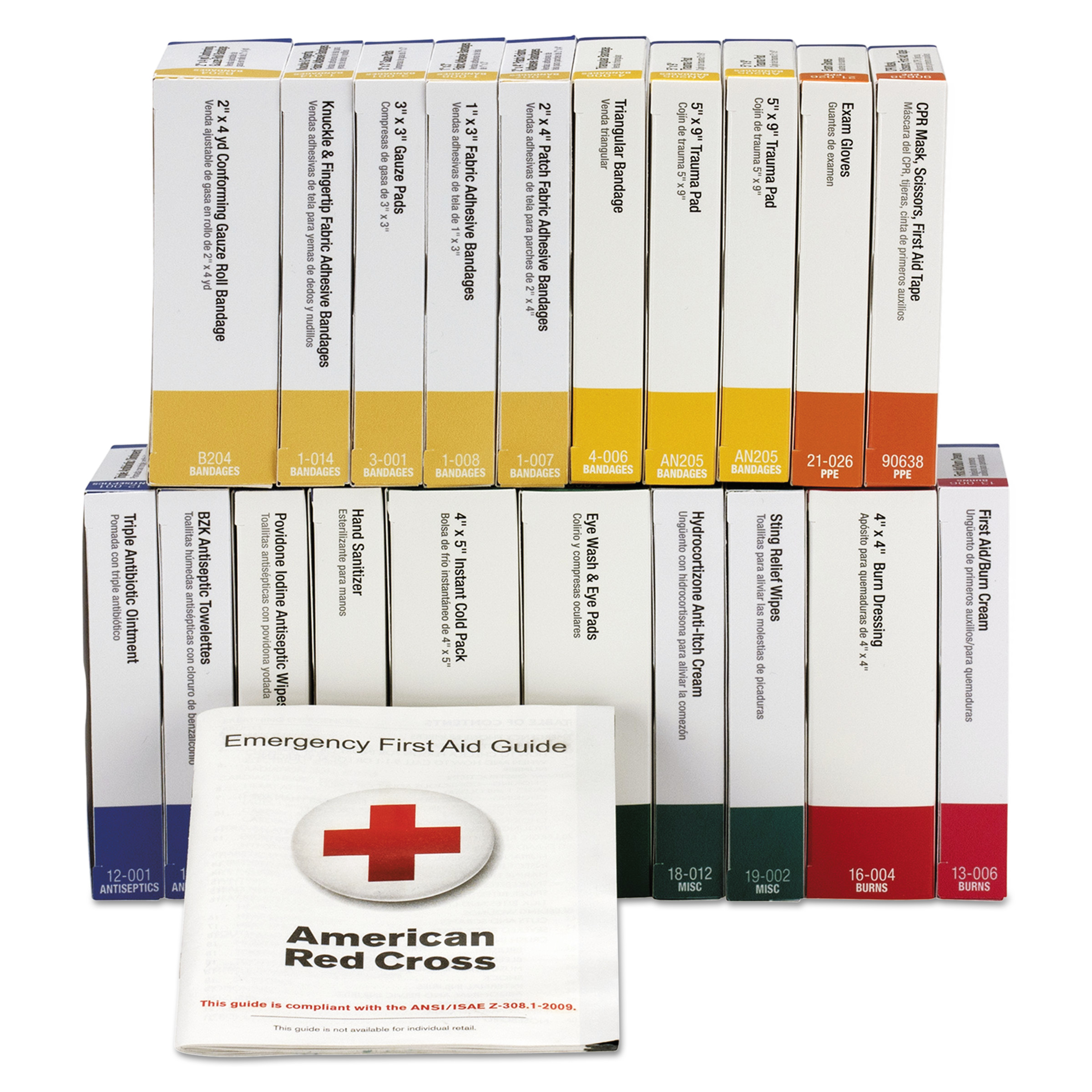 First Aid Only 24 Unit ANSI Class A+ Refill, 24 Pieces