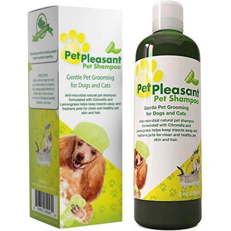 Honeydew Natural Pet Shampoo for Dogs Puppies and Cat - Anti Itch Flea and Tick Repellent