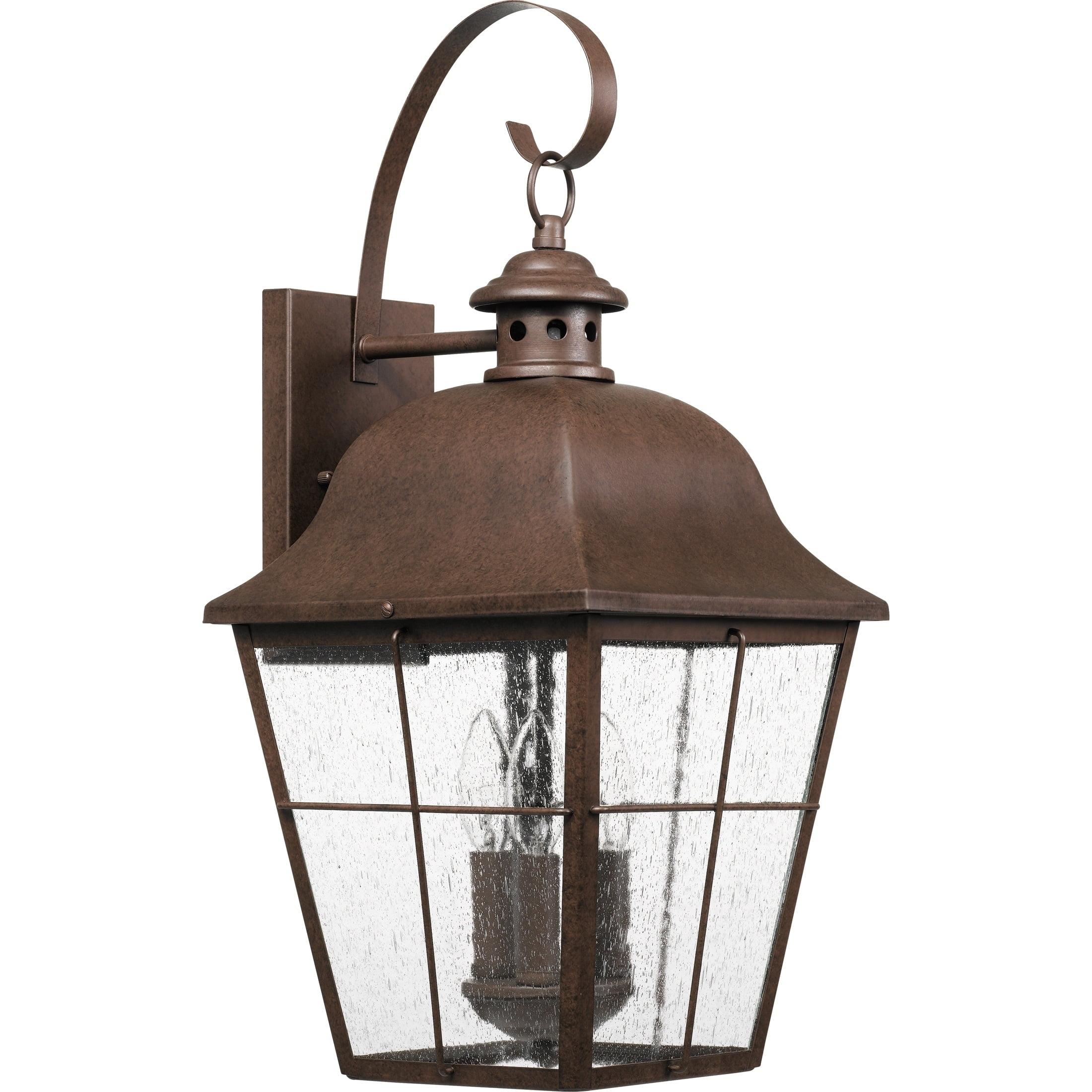 Quoizel Millhouse MHE84CU Outdoor Wall Lantern