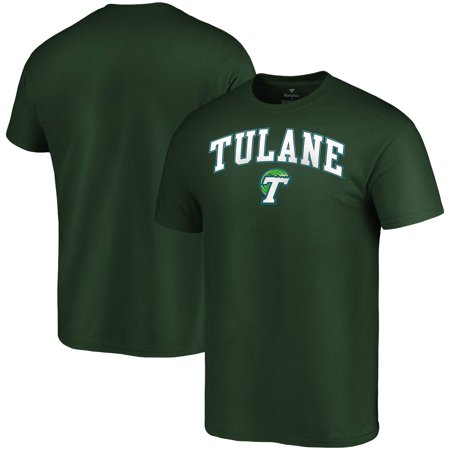 Tulane Green Wave Fanatics Branded Campus T-Shirt - Green