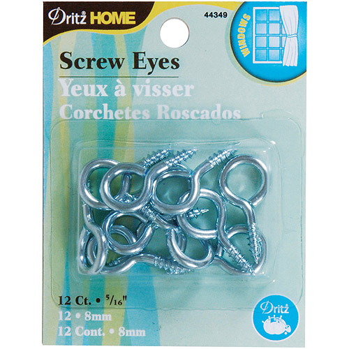 Screw Eyes, 12pk