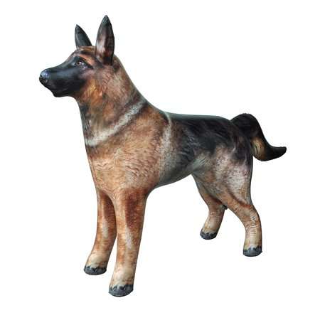 Inflatable German Shepherd Dog K9 pet animal 41 inch long for party decoration gift pool toy by Jet Creations (Best Dog Toys For German Shepherds)