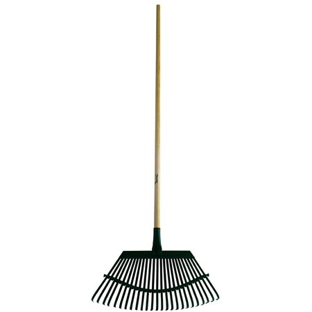 1W Lawn Rake 19-Inch Steel Head with 48-Inch Wood Handle, Flex rake Flex-Steel Lawn Rake Head With 48 Inch Wood Handle 19in To create the.., By Flexrake
