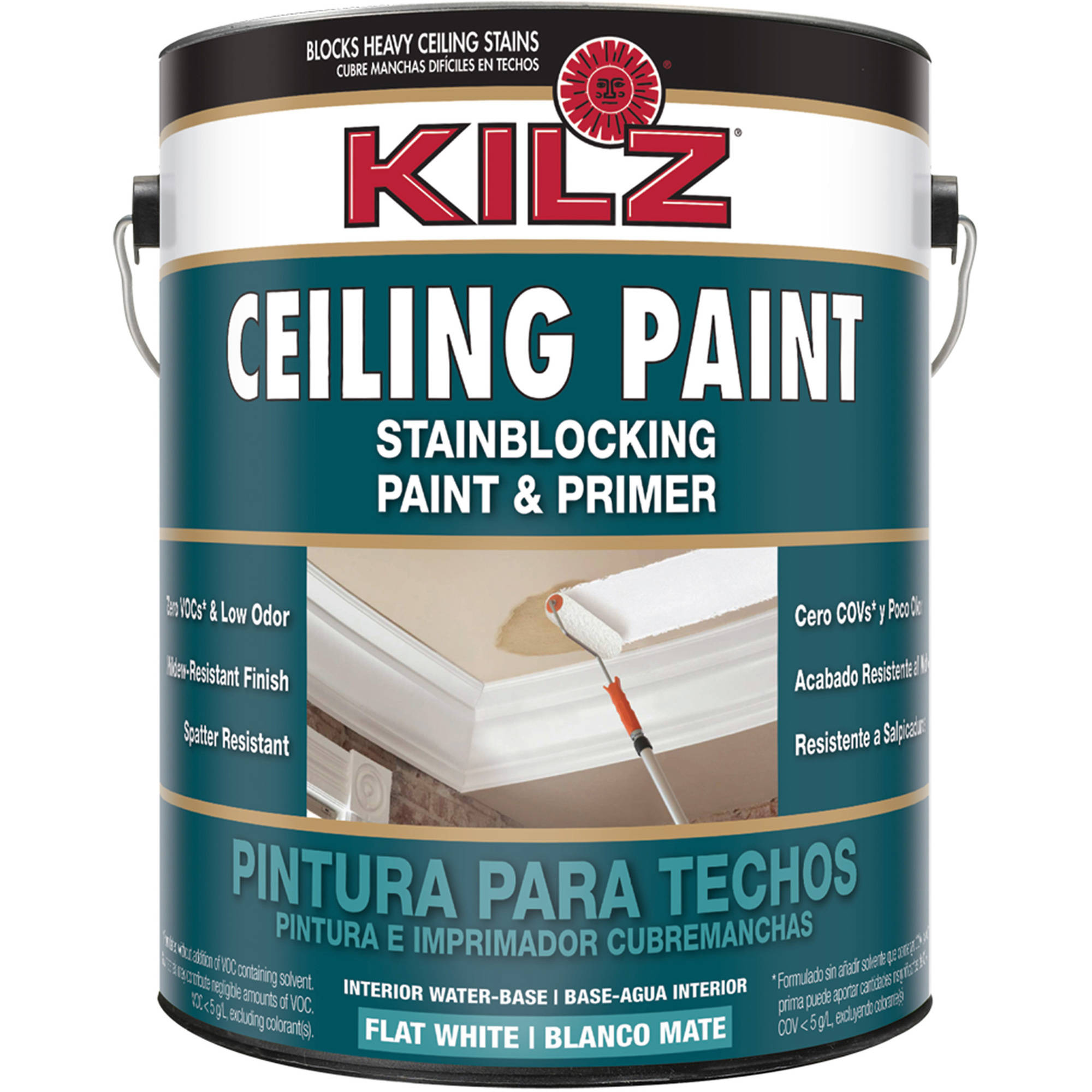 Great KILZ Stainblocking Interior Ceiling Paint And Primer In One, Flat White