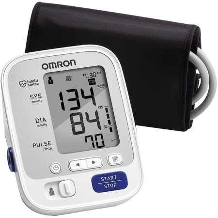 Omron BP742N 5 Series Upper Arm Blood Pressure Monitor with Cuff that fits Standard and Large
