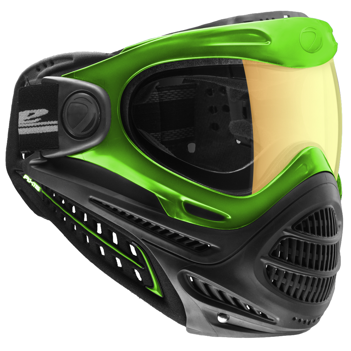 Dye Axis Pro Goggles w/ Thermal Lens - Lime Northern Lights