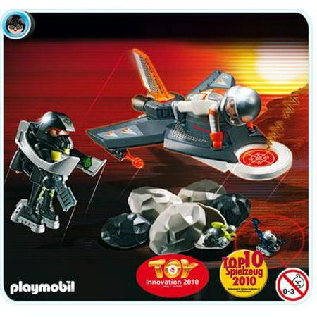 Transport Detection Jet Set Playmobil 4877