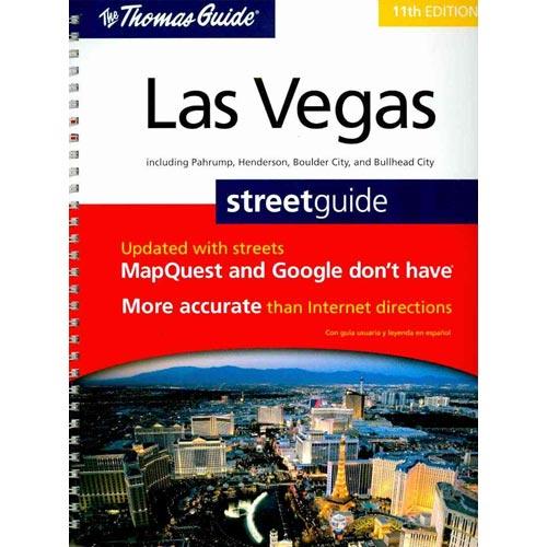 The Thomas Guide Las Vegas Street Guide: Including Pahrump, Henderson, Boulder City, and Bullhead City