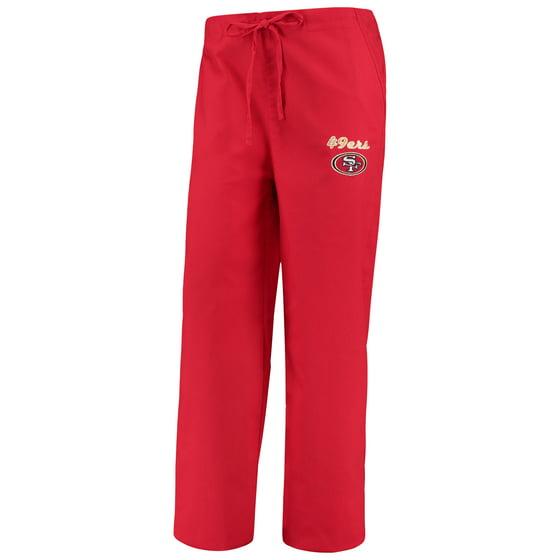 946de1a6 San Francisco 49ers Concepts Sport Women's Scrub Pants - Scarlet